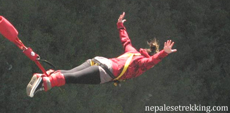 Bungee Jumping in Nepal,